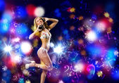 Chica de fiesta — Foto de Stock