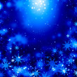 Snowflakes on blue — Stock Photo #50195661