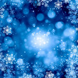 Snowflakes on blue — Stock Photo #50195693