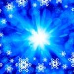 Snowflakes on blue — Stock Photo #50195713