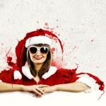 Santa girl — Stock Photo #50195895