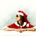 Santa girl — Stock Photo #50195907