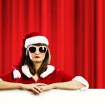Santa girl — Stock Photo #50195941