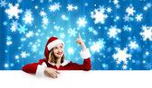 Ragazza di Santa — Foto Stock