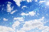 Błękitne niebo — Zdjęcie stockowe
