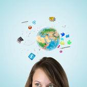 Tecnologías modernas — Foto de Stock