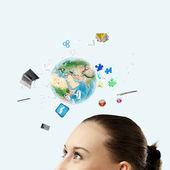 Tecnologias modernas — Foto Stock