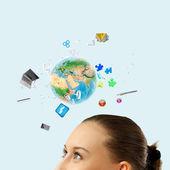 Modern teknik — Stockfoto