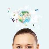 Moderne technologien — Stockfoto