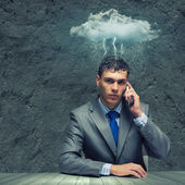 Business troubles — Stock Photo