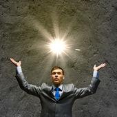 Successful businessman — Stok fotoğraf