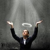 Empresária de santo — Foto Stock