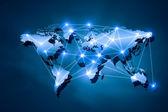Global interaction — Stock Photo