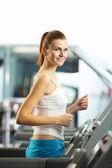 Séance d'entraînement cardio — Photo