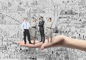 Business team — Stock fotografie