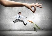 Biznes motywacja — Zdjęcie stockowe
