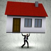 Mortgage concept — Stock Photo