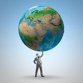 Salvare il nostro pianeta — Foto Stock
