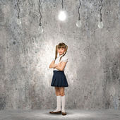 девочка вундеркинд — Стоковое фото