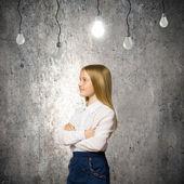 Wunderkind-Mädchen — Stockfoto