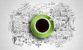 It's coffee time — Foto Stock