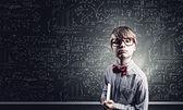 Aluno inteligente — Foto Stock