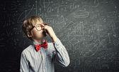 Niño inteligente — Foto de Stock