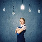 Wunderkind girl — Stock Photo