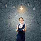 Wunderkind girl — Foto Stock