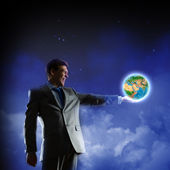Our Earth planet — Stock Photo