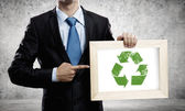Recycle concept — Stockfoto