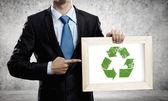 återvinna koncept — Stockfoto