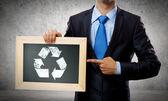 Conceito de reciclagem — Foto Stock