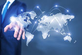 Media globalization — Stock Photo