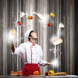 Cook at kitchen — Stock Photo #50952013