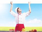 Man cook — Stock Photo