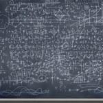 Sketch on blackboard — Stock Photo