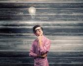 Hombre pensativo — Foto de Stock