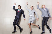 Funny businesspeople — Foto Stock
