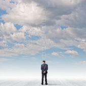 Ladder of success — Stockfoto