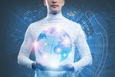 Globales technologies — Foto de Stock
