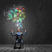 Pensamiento creativo — Foto de Stock