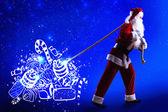 Magic Christmas eve — Stock Photo