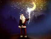 Magic Christmas eve — Stock Photo
