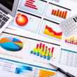 Graphs, charts, business table. — Stock Photo #6692243