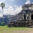 The ancient architecture of Angkor Wat temple in Cambodia — Stock Photo
