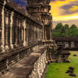 Angkor Wat at sunset — Stock Photo #13682020