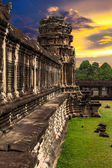 Angkor Wat at sunset — Stock Photo