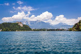 Lake Bled. Slovenia. — Stock Photo