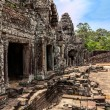 The ruins of Angkor Thom Temple in Cambodia — Stock Photo